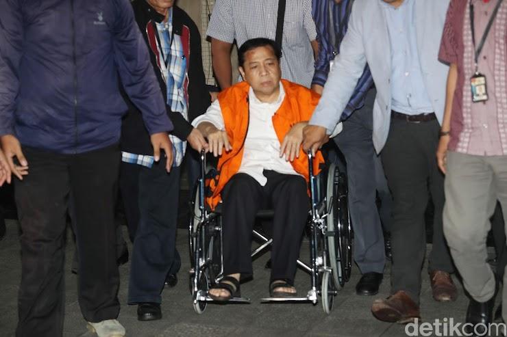 Novanto Minta Perlindungan ke Jokowi dan Kapolri