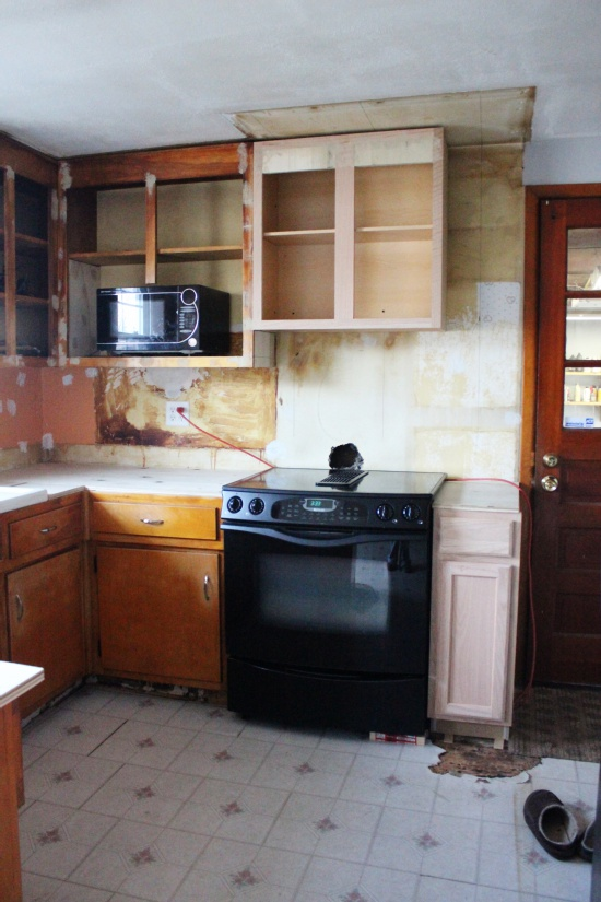 The Upper Cabinets Weren T So Easy First I Discovered That Our Existing Are 36 Tall And Most Kitchens Have Only 30