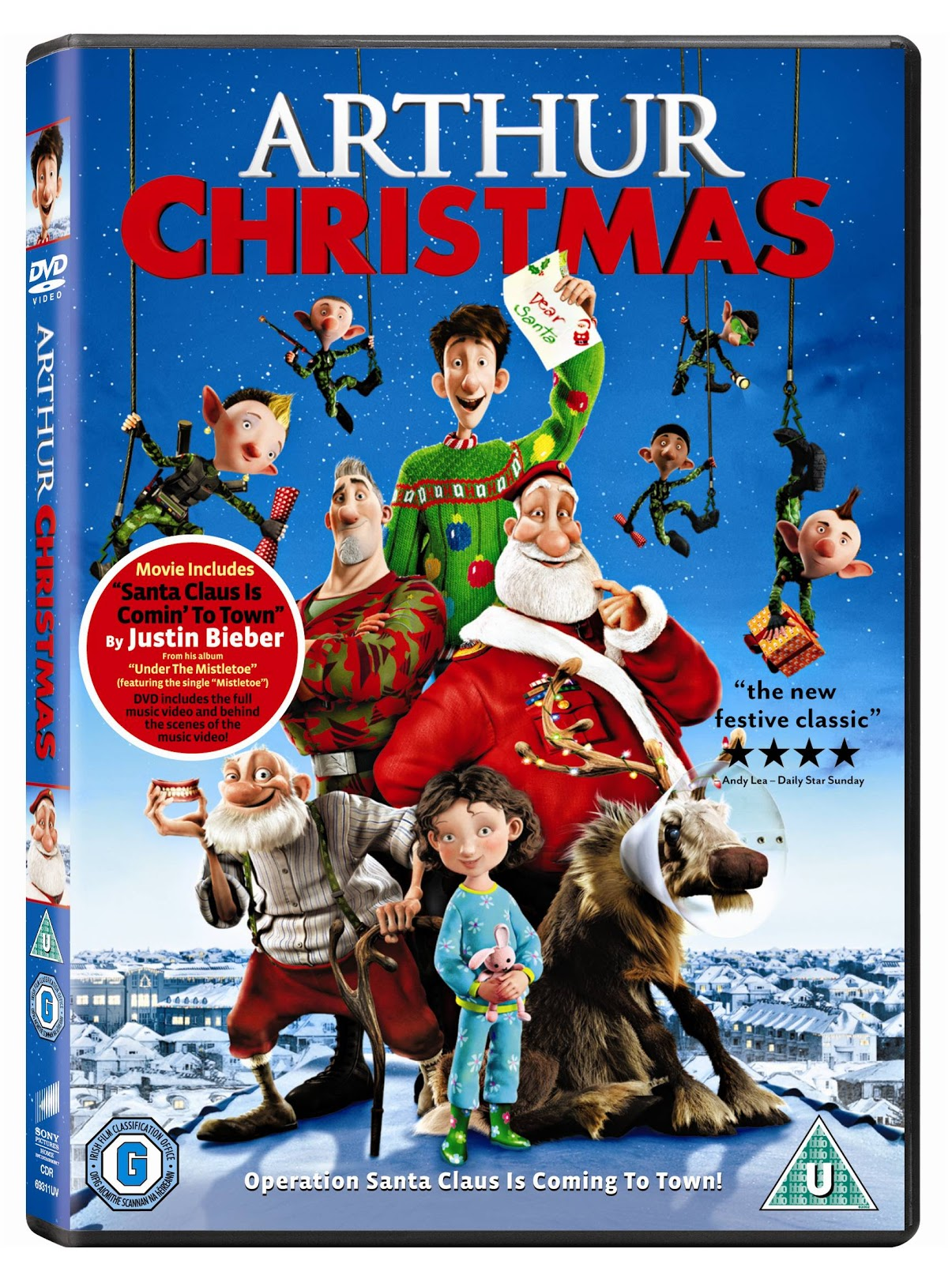 Arthur Christmas Elves.Older Single Mum Arthur Christmas