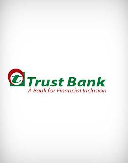 trust bank vector logo, trust bank, trust, bank, vector logo, money transfer, bank transfer, money, dollar transfer, transaction, insurance