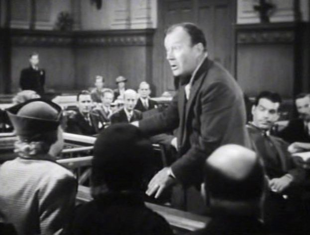 Another old movie blog december 2011 her defense attorney played by willard robertson who had really been a lawyer in younger days engages in some magnificent and utterly pompous courtroom fandeluxe Image collections