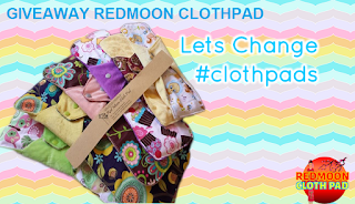 Giveaway Redmoon Clothpad