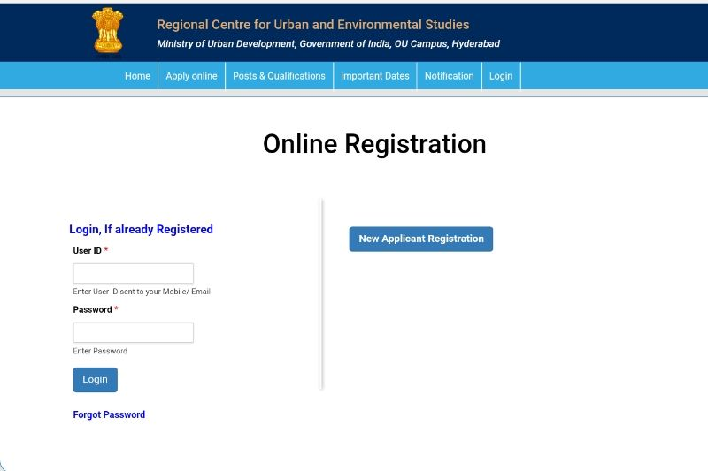 Recruitment of AP Municipalities (ULBs)-750 Posts Online Application at  www.rcueshyd.gov.in