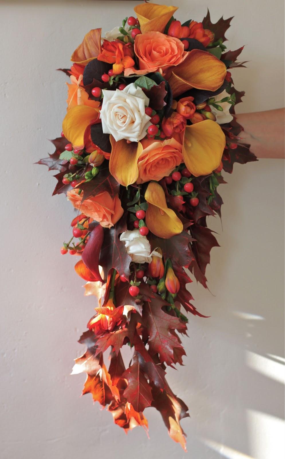 Wedding Flowers Blog: Alison's Autumn Wedding Flowers ...
