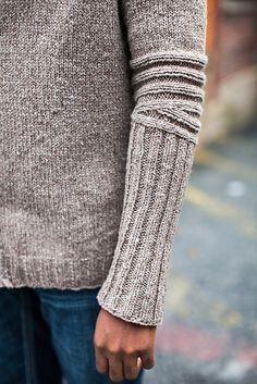 detal na swetrze