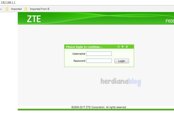 Halaman-Login-Modem-ZTE-Telkom-Speedy