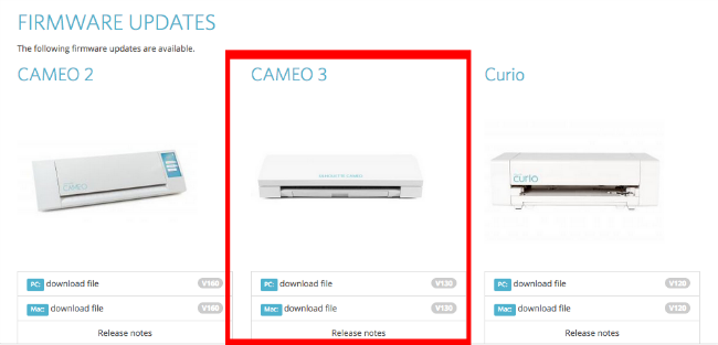 Silhouette CAMEO 3 firmware update, silhouette cameo 3 cutting status, checking connection, paused, won't cut