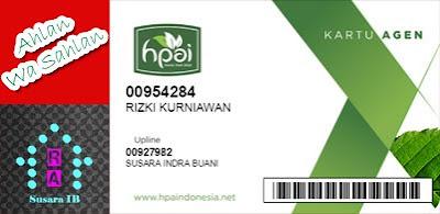 daftar member hpai online dengan RAO 10 ribu