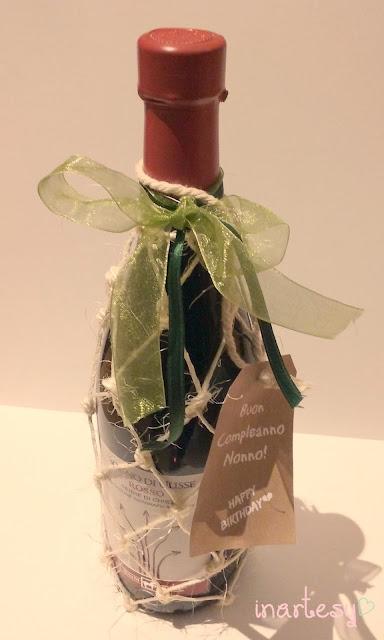 Ben noto inartesy- Handmade, Food, Graphics, Lifestyle: ♡Bottiglia di vino  OX96