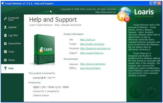 Loaris Trojan Remover v1.3.6.7 With Keygen