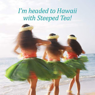 I earned a trip to Hawaii with Steeped Tea!