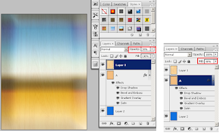 Fungsi Palet Layers Pada Adobe Photoshop, manfaat dan  fungsi opacity dan fill opacity di photoshop