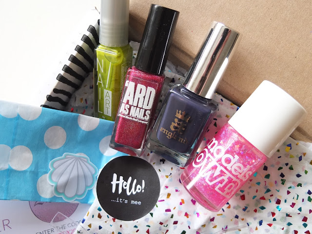 MeeBox, The Subscription Box for Nail Art Lovers
