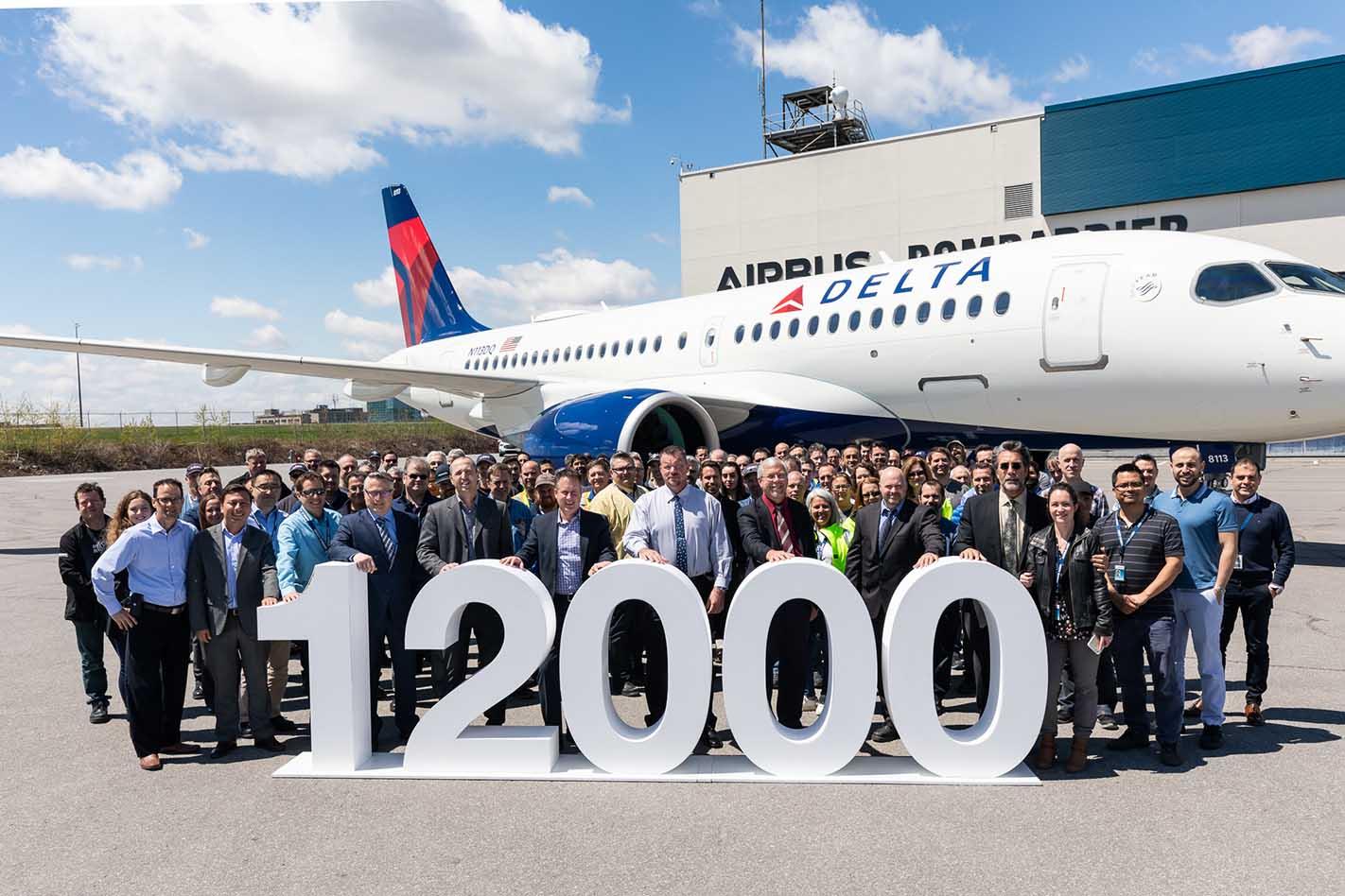 Airbus entregou sua 12.000ª aeronave   É MAIS QUE VOAR