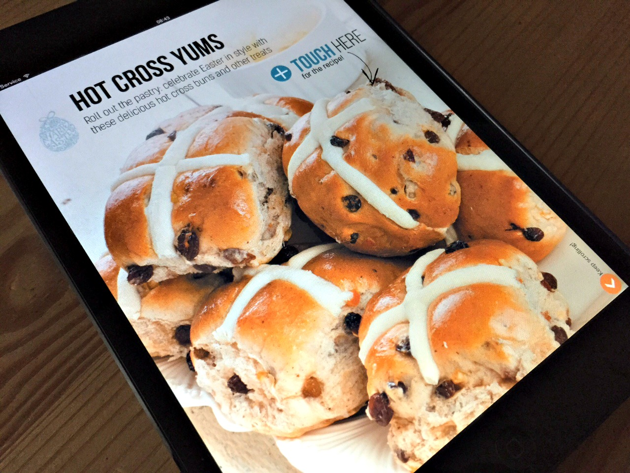 Vegan Life Recipe - Hot Cross Buns
