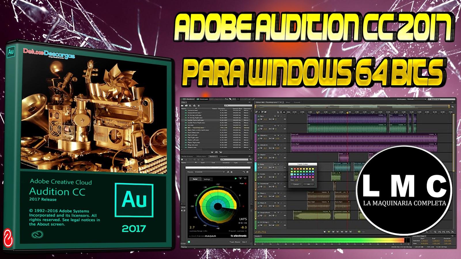 Adobe Audition CC 2017 full español MEGA | Diez Dimensiones