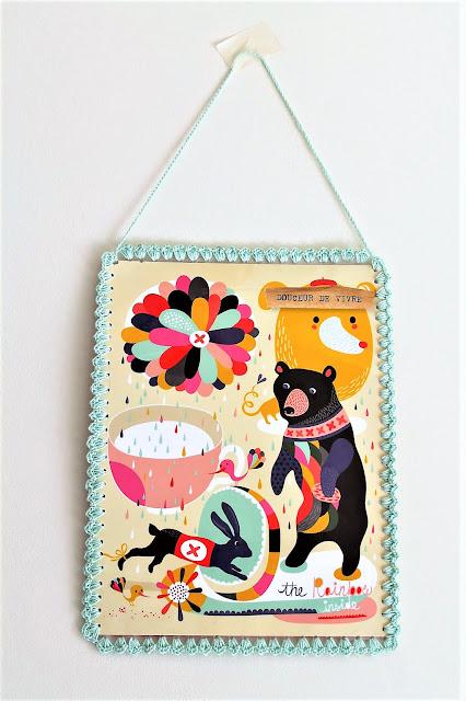encadrement-crocheté-illustration-flow-ours