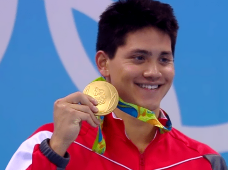 joseph schooling singapore olympic gold champion