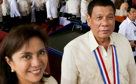 Duterte and Leni's selfie-worthy pic on National Heroes' Day