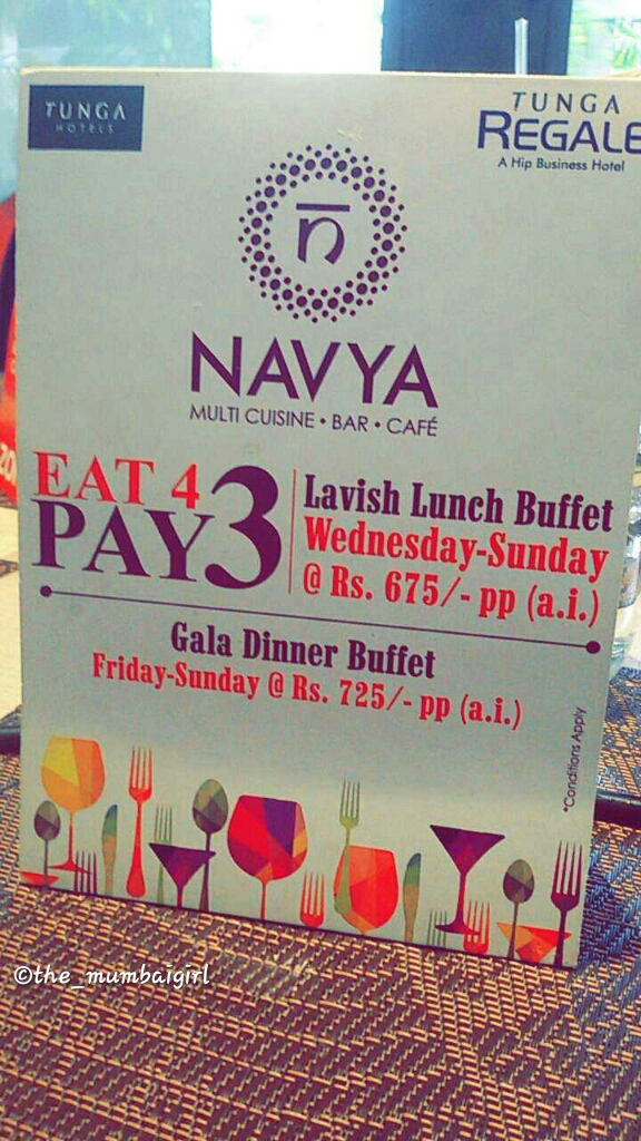 Navya  The Regale by Tunga  The Hungry Cancerian