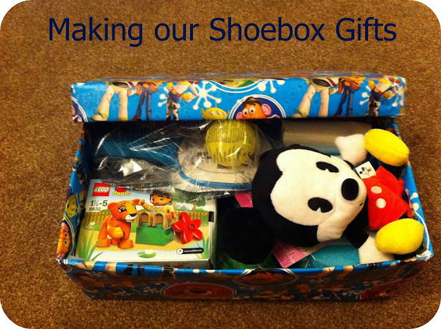 Christmas shoebox gift