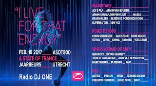 Stay in trance with ASOT 800 Festival (Utrecht) to the best trance radio online!