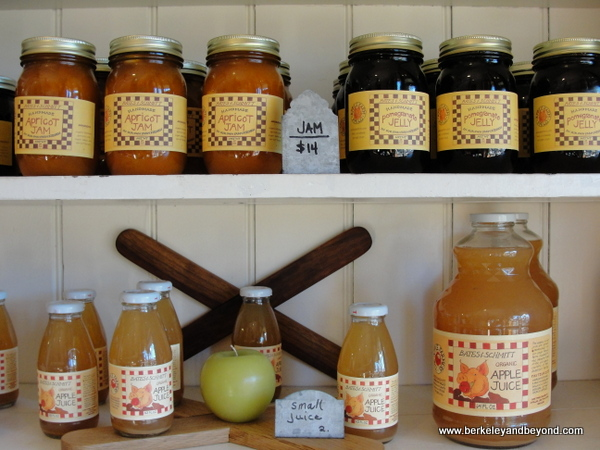 jams and juices at Farmhouse Mercantile in Boonville, California