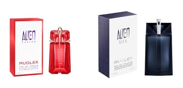 Alien Fusion y Alien Man Mugler 2
