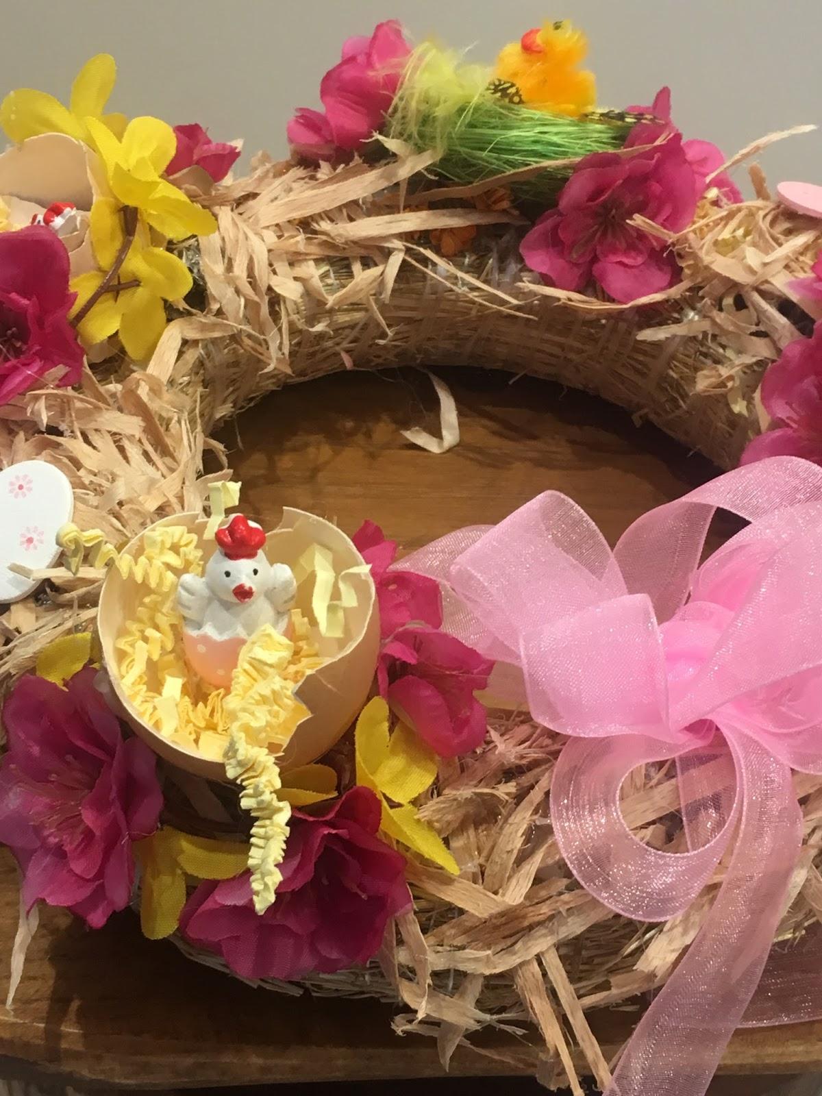 Mój Domek Z Ogródkiem Diy Stroik Wielkanocny
