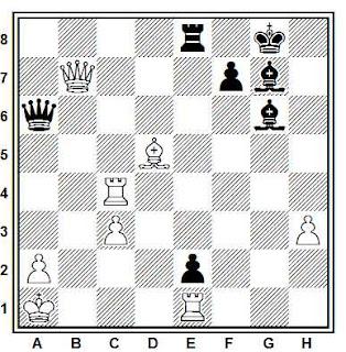 Problema ejercicio de ajedrez número 708: Arnasson - Keene (Londres, 1981)