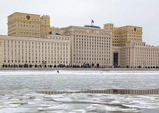 αντίδραση του ρωσικού υπουργείου Άμυνας