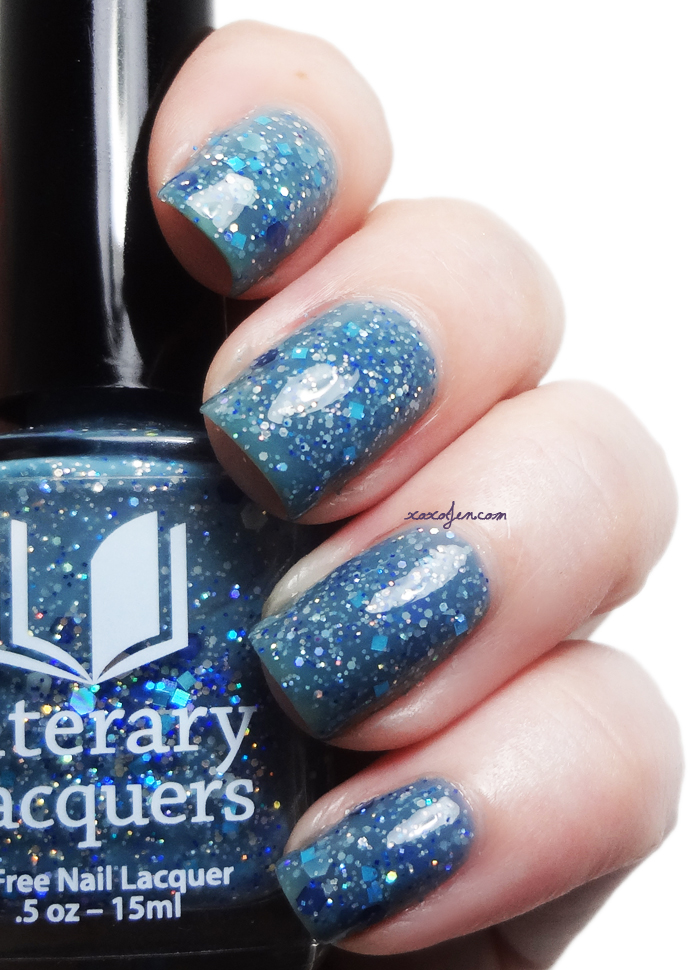 xoxoJen's swatch of Literary Lacquers Shadowgirl