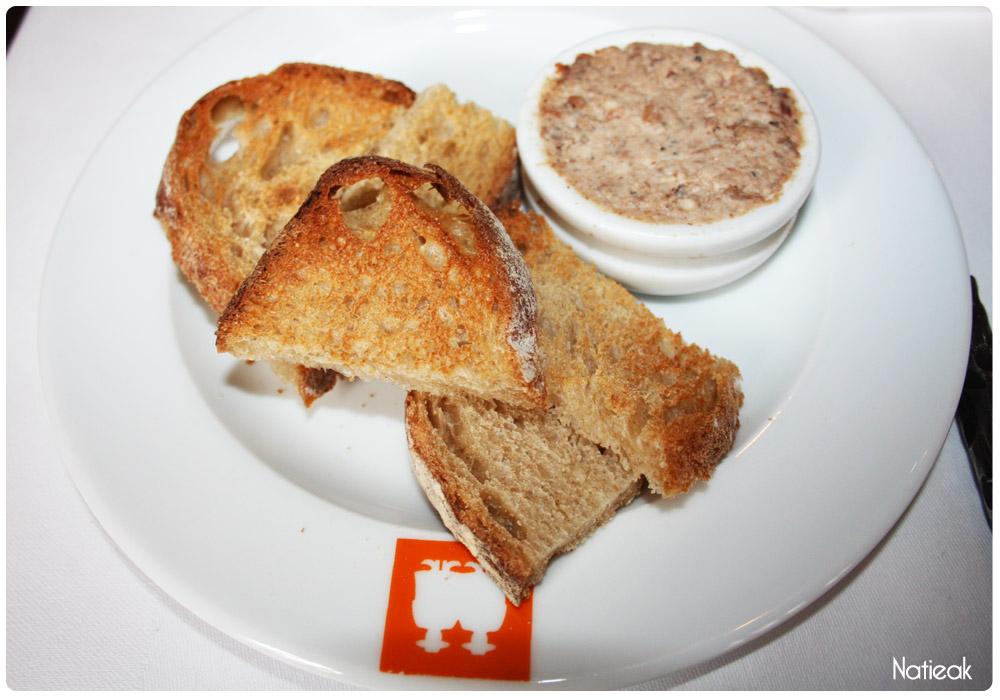 terrine de porc Ambassade d'Auvergne