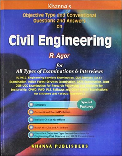 DOWNLOAD CIVIL ENGINEERING OBJECTIVE BOOK R AGOR PDF