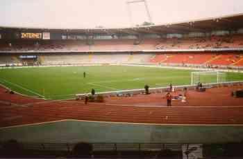 Hier im Stadion in Köln spielte Löw gegen Klinsmann - Löw verlor 1 : 2