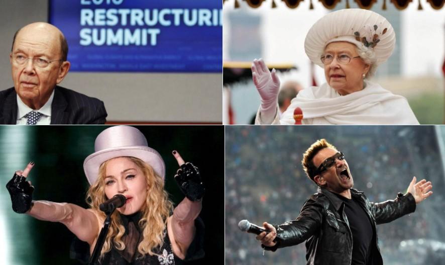 Paradise Papers, coinvolti anche Madonna e Bono degli U2