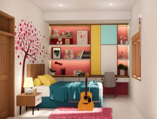 Ruangan Kamar Rumah Type 36