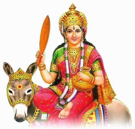 Mata Sheetla is worshiped on the day of Basoda for healthy life.
