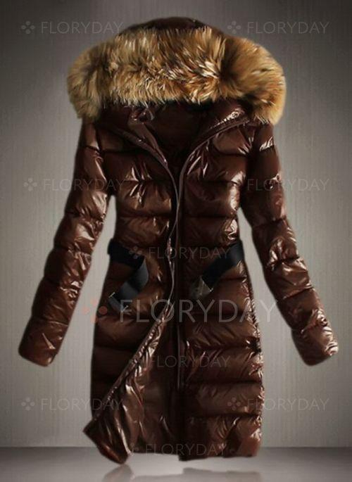 Long Sleeve Hooded Padded Coats