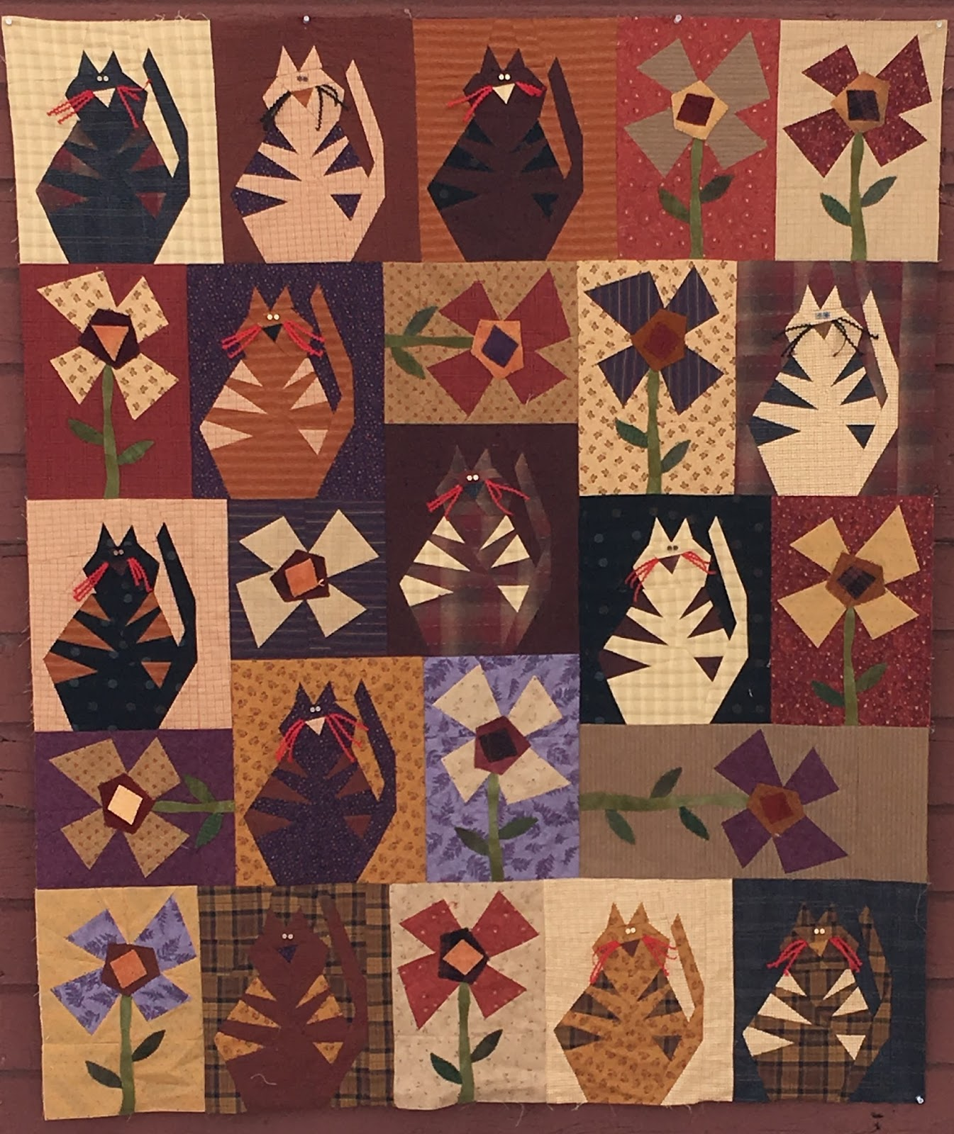 continually crazy: All new Crazy Cats! You CAN still get this look! : buggy barn quilt show - Adamdwight.com