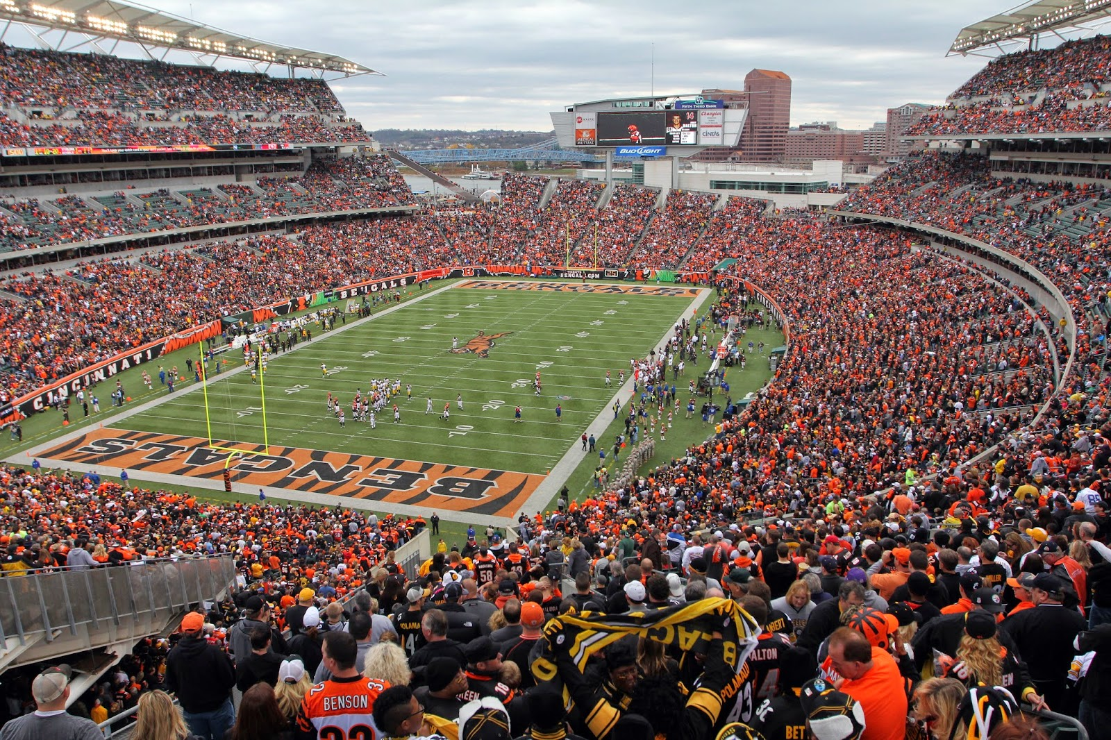 Cincinnati Bengals Luxury Suite Rentals, Paul Brown Stadium