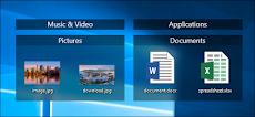 Cara Mendapatkan MacOS Mojave-Style Desktop Stacks pada Windows