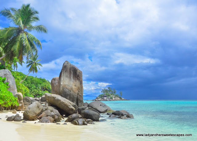 postcard-perfect view in Anse Royale