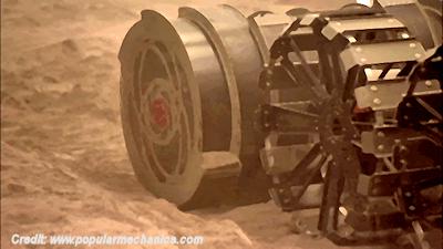 Digging Robot Will Help Mine Mars