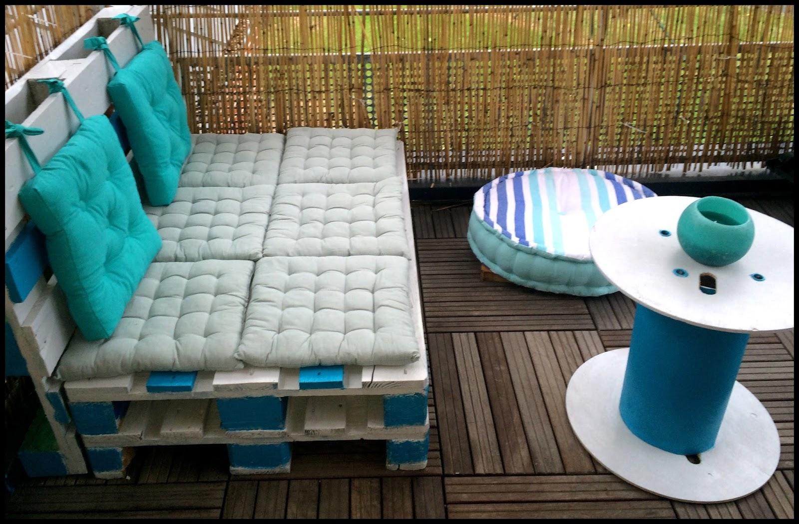 Ou Trouver Des Coussins Pour Salon De Jardin En Palette | Awesome ...