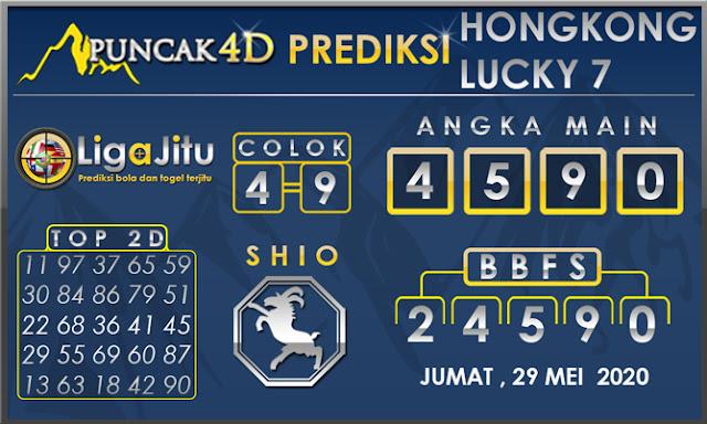 PREDIKSI TOGEL HONGKONG LUCKY 7 PUNCAK4D 29 MEI 2020