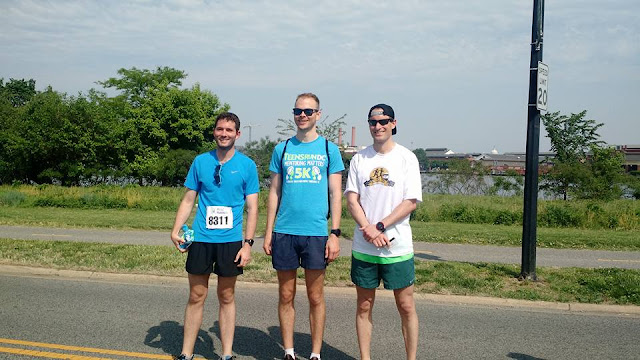 top three finishers 2018 Mentoring Matters 5K