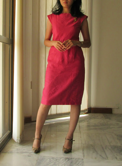 Darlene's Minimalist Dress: Geometric Dress 104 08/2014