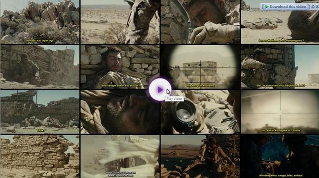 Screenshots Download Film Gratis The Wall (2017) BluRay 480p MP4 Subtitle Indonesia 3gp