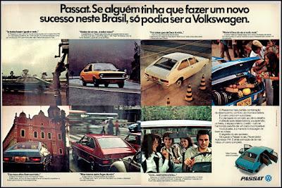 propaganda VW Passat - 1974, propaganda Volkswagen - 1974, vw anos 70, carros Volkswagen década de 70, anos 70; carro antigo Volks, década de 70, Oswaldo Hernandez, Passat 74,